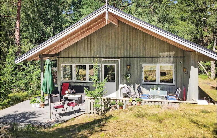 Holiday cottage with 3 bedrooms on 94 m² in Yngsjö