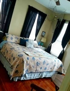 Priv.Room In Lovely Seaside Cottage - Galveston