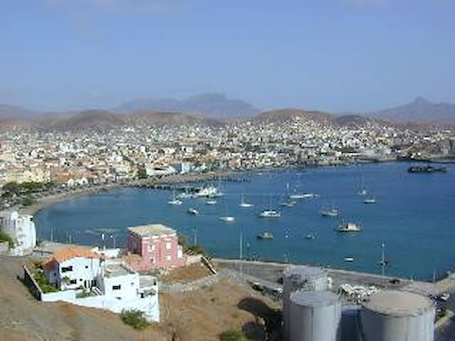 Mindelo one of the most beautiful   Bay in the world.