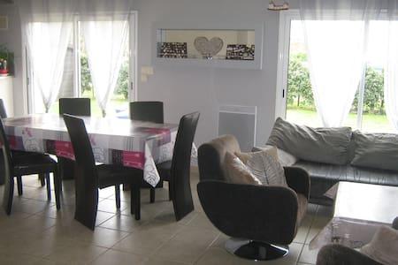maison de plein pied confortable avec jardin - Saint-Mars-de-Coutais - House - 2