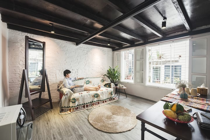 Satori Homestay - Cozy loft for 4 in Old Town