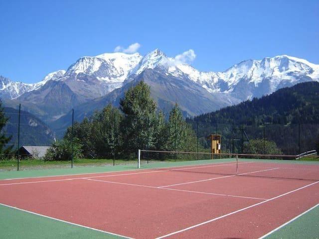 St-Gervais-Les-Bains  tennis-piscine-rando-lacs