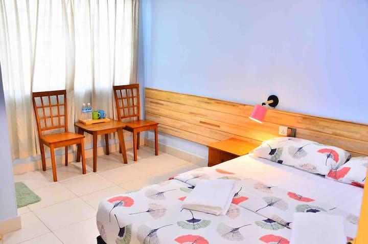 未知花园别墅大床房(Un-garden queen bed room)