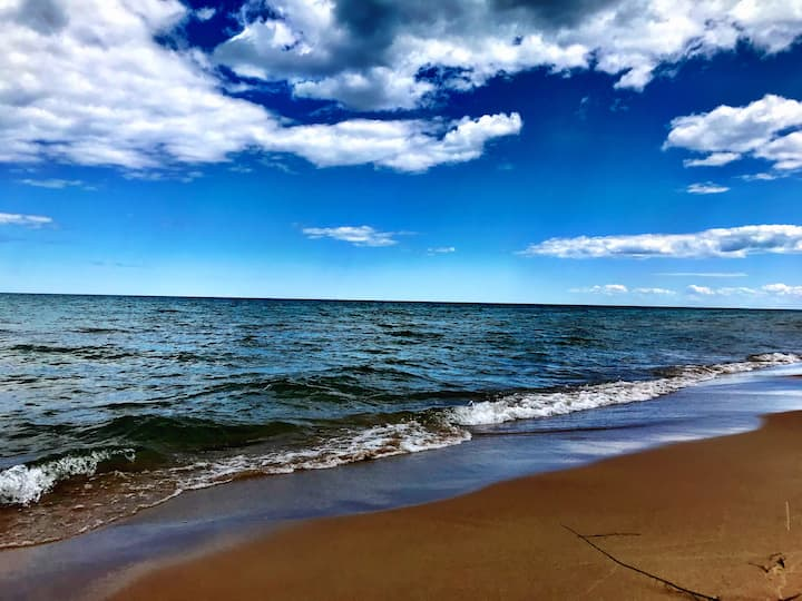 Beachy, Updated Home · Steps to Sandy Lake Huron