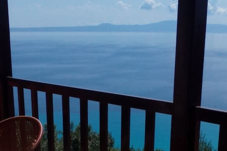 Spectacular sea view (ap.1a) - Afytos
