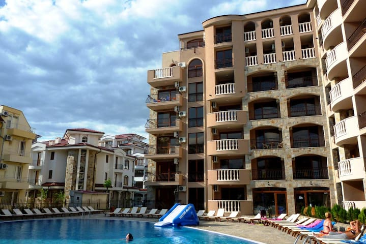Kalia Apartment Sunny Beach 2-Zimmer+Balkon TOP