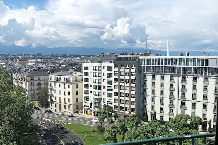 Appartement au centre ville de Genève