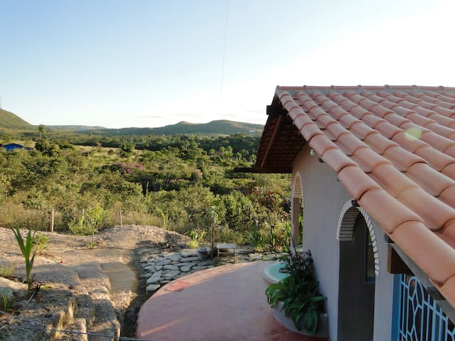 360 ° view under the stars and sunset- Loquinhas