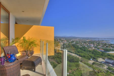 Luxury Ocean View Apartment Alamar (Amura 601 B) - Cruz de Huanacaxtle