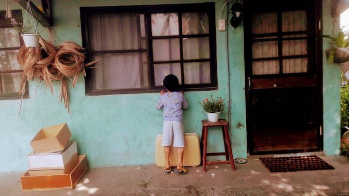 都蘭糖廠老宿舍。四人房