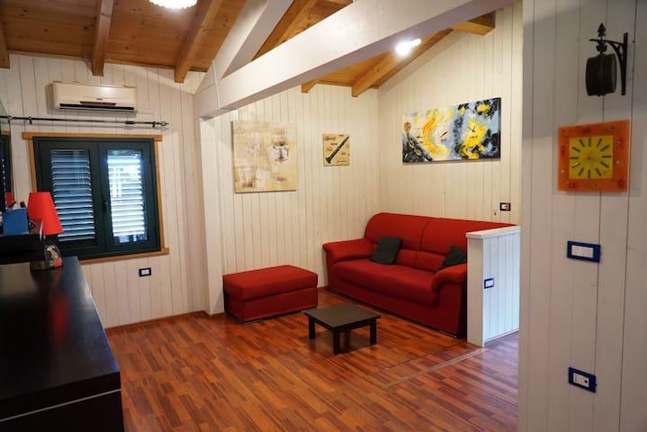 Villa de linna,wi-fi,vicino al mare