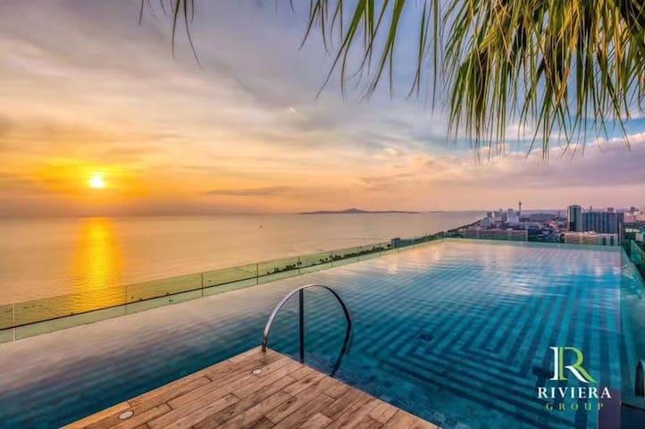 芭提雅里维拉中天The Riviera Jomtien 2020年新晋网红五星级海景公寓