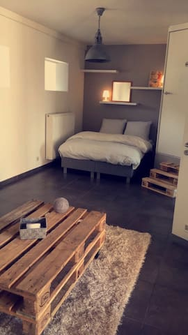 Your private loft in the city centre of Ghent