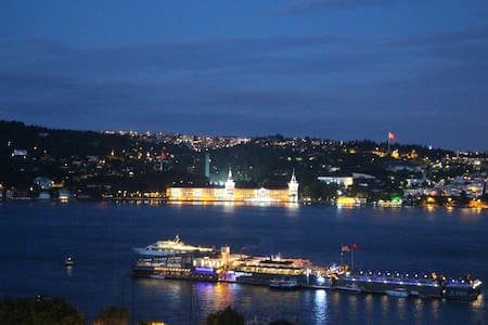Peaceful Wooden House with Bosphorus View - Besiktas - Leilighet