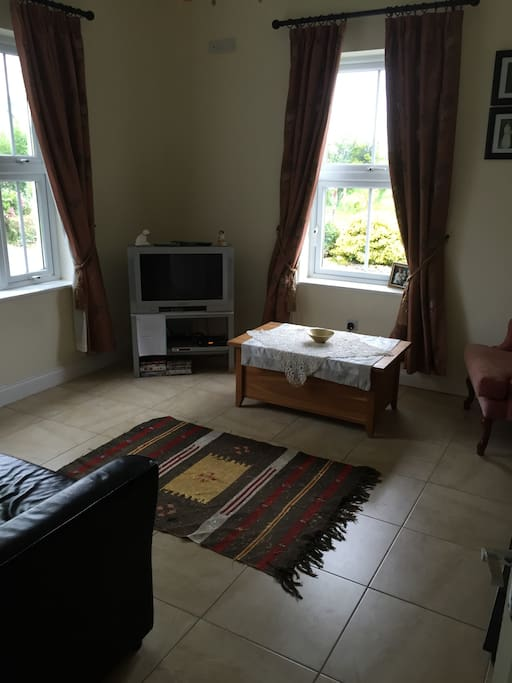 TV room with sofa bed to sleep two extra guests