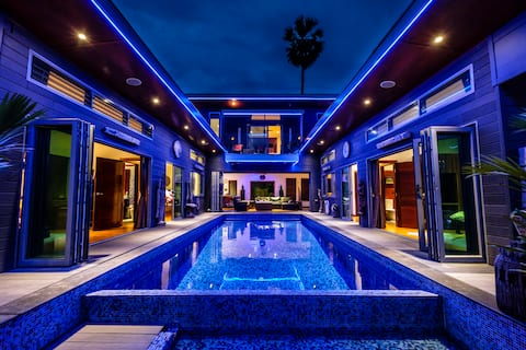 Lamai  Exceptional Ocean View Pool Villa free Car