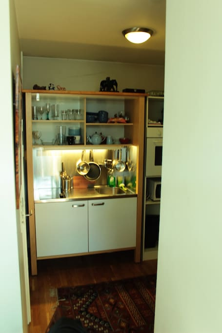 Small but practical kitchen with all you need