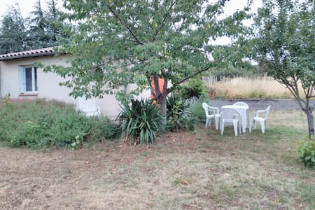 Studio dans le Jardin - Studio in the Garden - Villardonnel - Wohnung