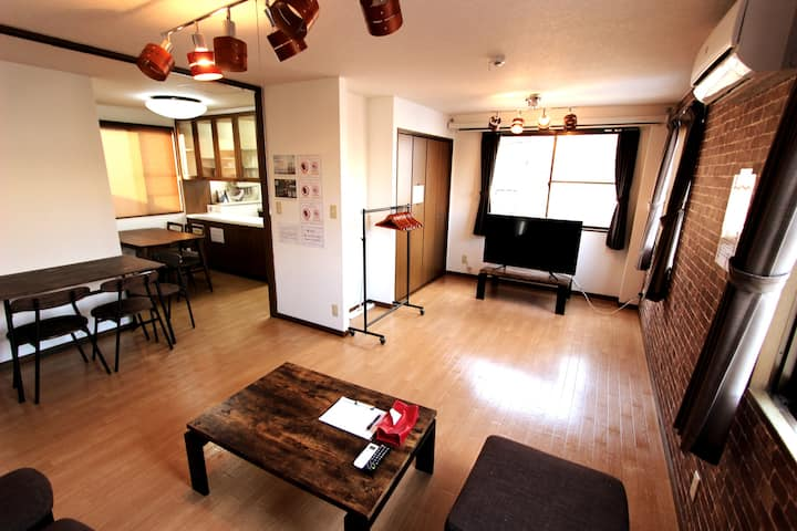 Luxury house in Utsunomiya. free parking
