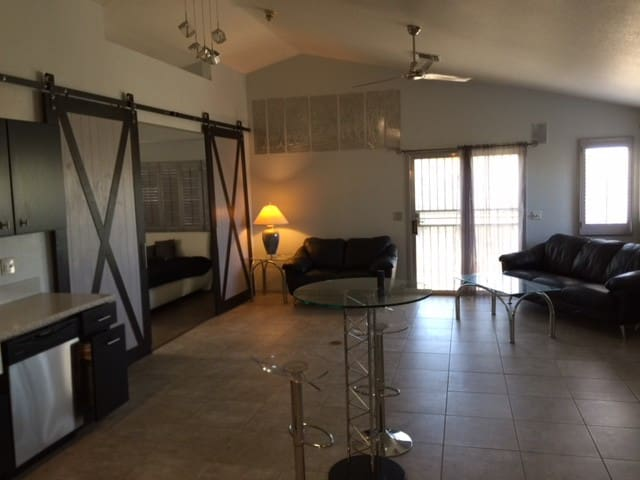 Modern Resting Space in the Desert