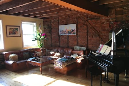 STUNNING apartment w/river views in town! - Lambertville - Lakás