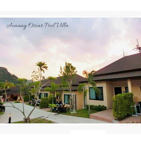 Aonang Oscar Pool Villa (Two-Bedroom Garden View)