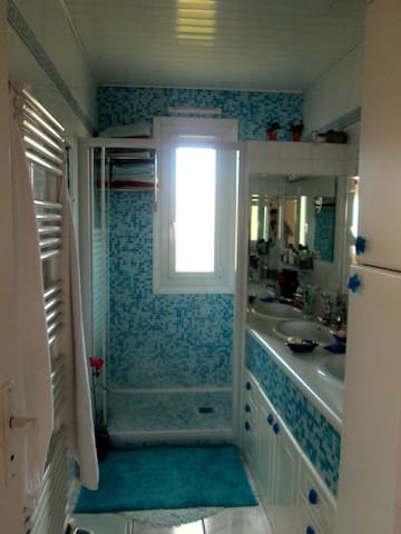 La salle de bain commune