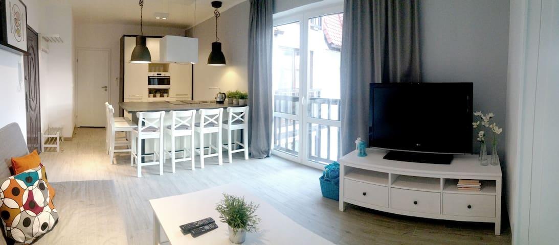 Apartament Nadmorska 7 - Rowy - Daire
