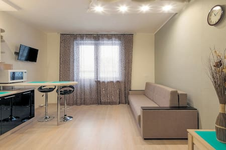 Super-Studio Zhit Zdorovo on Severnaya - Odintsovo - Apartament