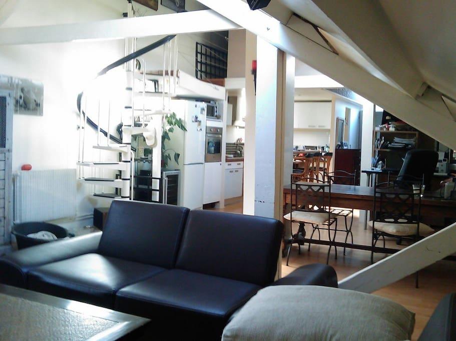 Loft melun lofts louer melun le de france france - Achat loft ile de france ...