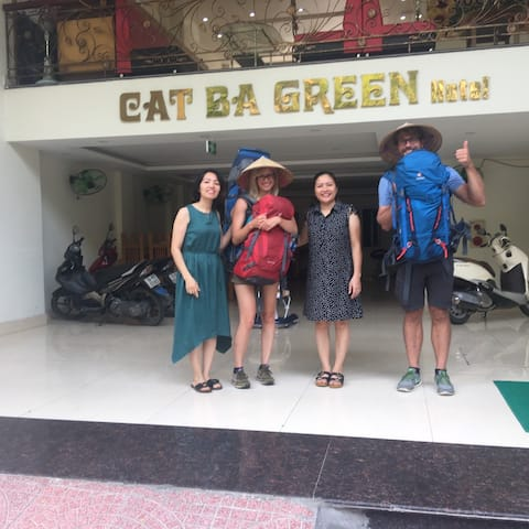 Cat Ba Green Hotel 🍎 A Family-run Hotel 💛🌷