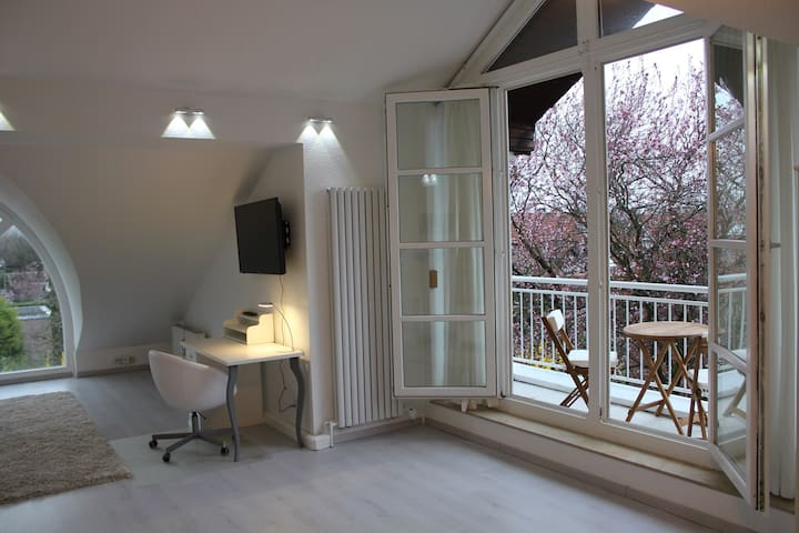 Charming studio apart. near Rhine - Düsseldorf - Appartement