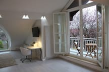 Charming studio apart. near Rhine