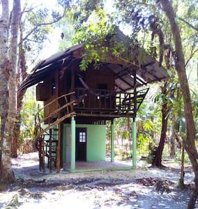 tree house small terrace - Ko chang noi - Boomhut
