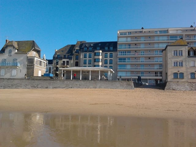 PLAGE DU SILLON, T2, Parking privé, Wifi