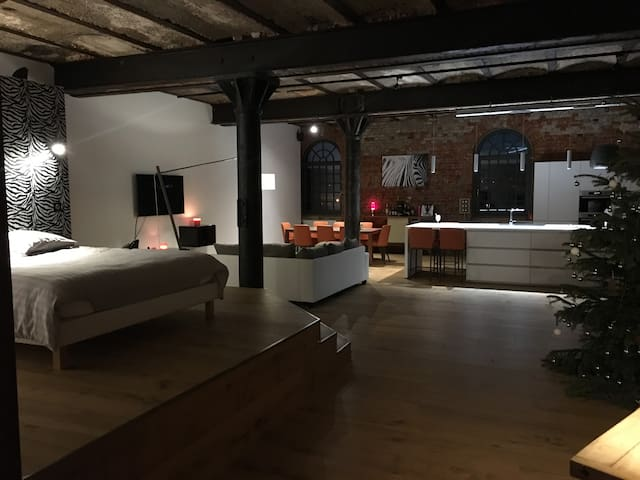 Beau et spacieux loft rénové, 130m2