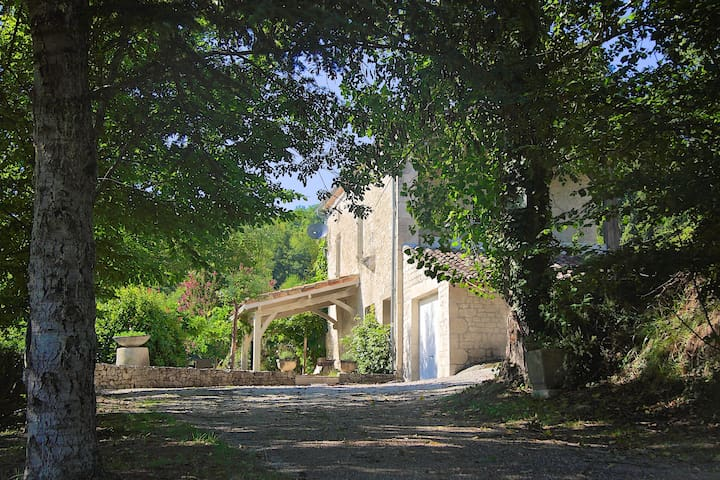 Beautiful Quercy Stone Cottage. - Cauzac - Huis
