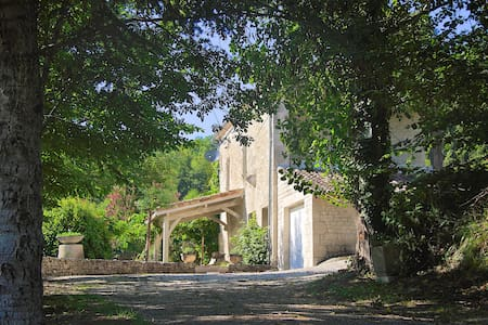 Beautiful Quercy Stone Cottage. - Cauzac - Hus
