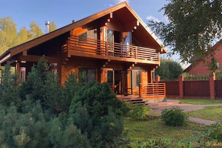Новый деревянный дом. 7 км от МКАД