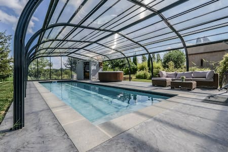 B&B le Patio, Jacuzzi sauna piscine chauffée