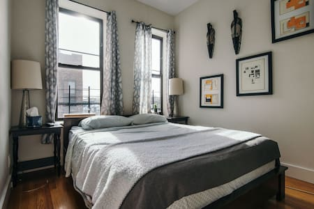Cozy modern sunny room for 2 - Brooklyn - Apartment