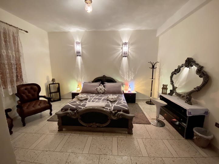 Cozy private room, Bed &Breakfast,(Fez New City)