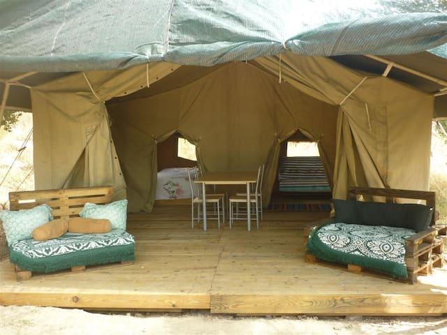 Monsanto: eco, off-grid farm stay in safari tent - Monsanto - Tent