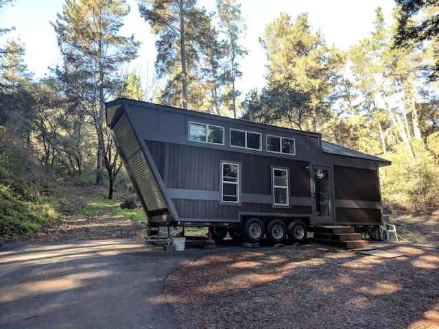 Corralitos Tiny Home Redwood Retreat