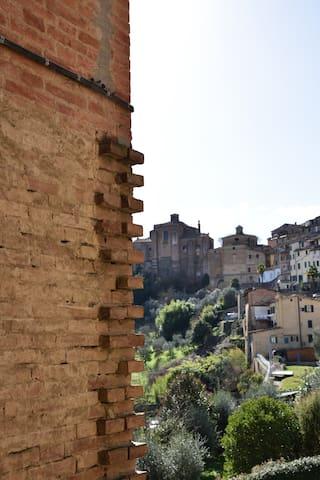 Vista dalle finestre (chiesa di Sant'Agata)