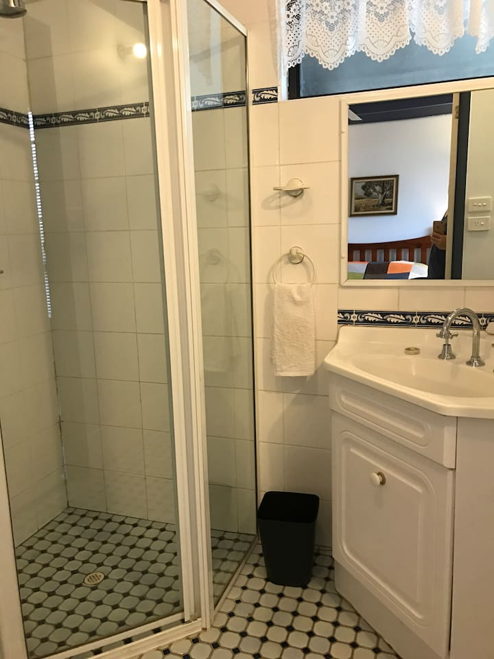 Your own bathroom, neat and tidy