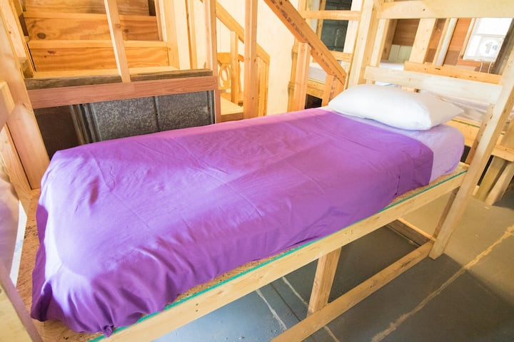 #8 Bottom Bunk The Station at 19e