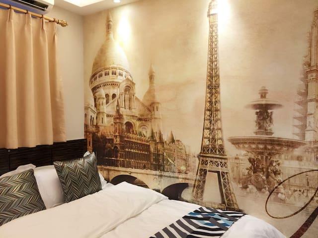 Paris style two double - Hong Kong Island - Hus