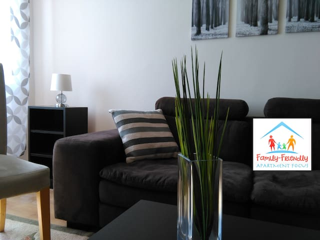 Apartment Focus - close to the Library of Congress - Szeged - Apartamento