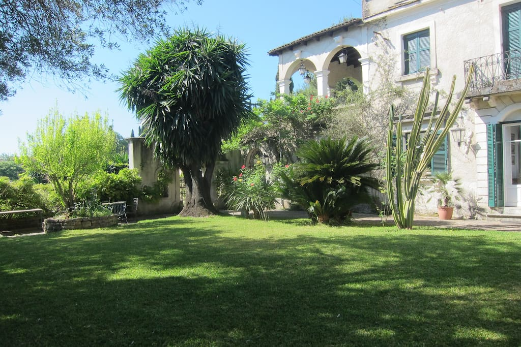 400 sqm Private Garden with BBQ
